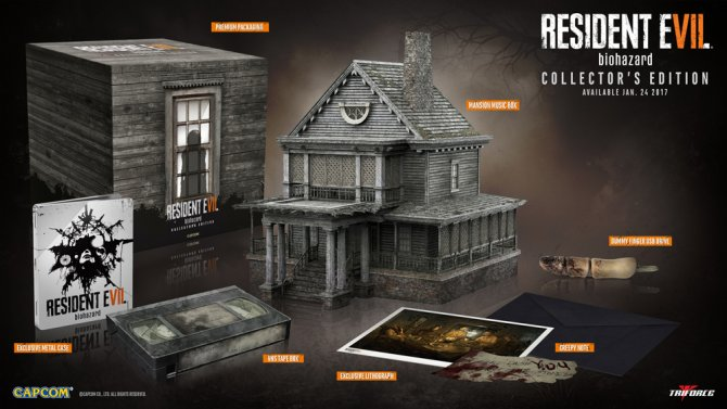 Коллекционное издание Resident Evil 7 в GameStop