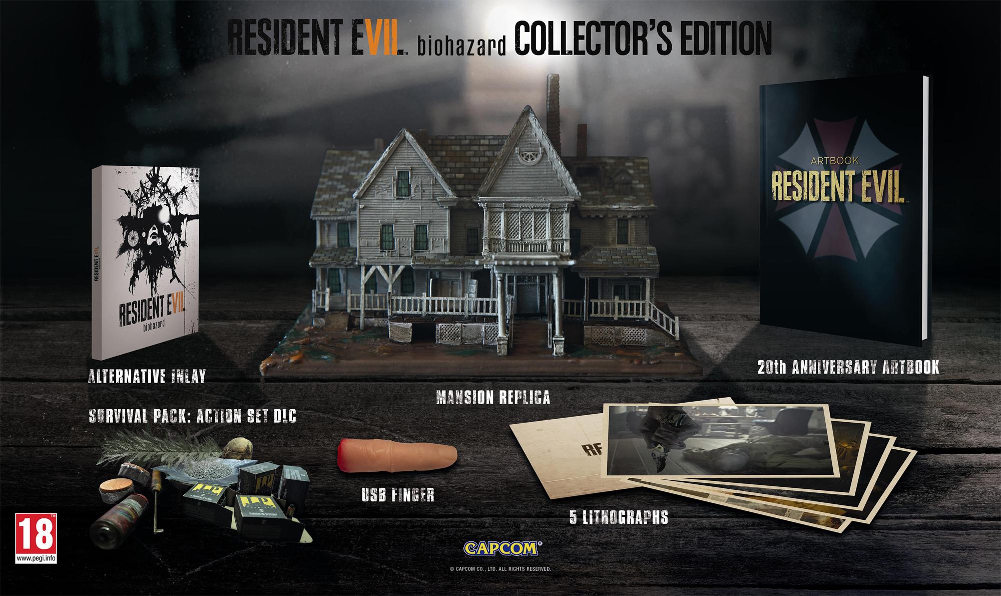 Европейское коллекционное издание Resident Evil 7 Biohazard