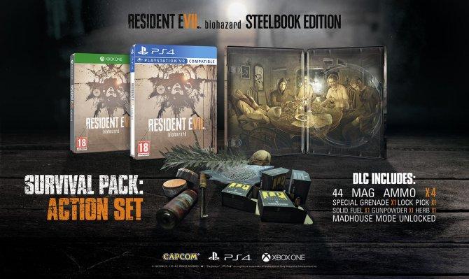 Европейское стилбук издание Resident Evil 7 Biohazard