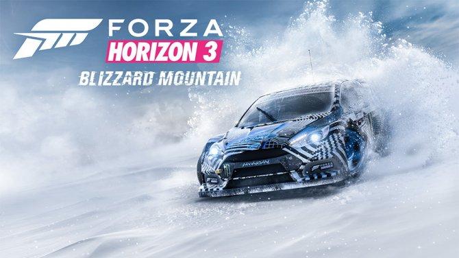 Зима в Forza Horizon 3