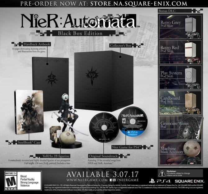 Nier Automata: Black Box Edition