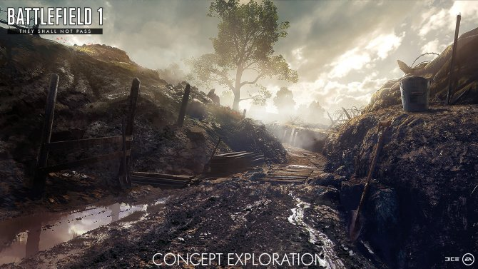 Краткий обзор дополнения They Shall Not Pass для Battlefield 1