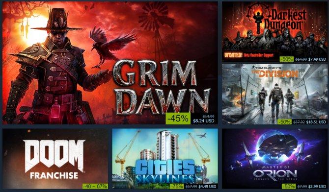 Началась зимняя распродажа в Steam