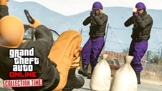 Новы режим «Коллекторы» для GTA Online
