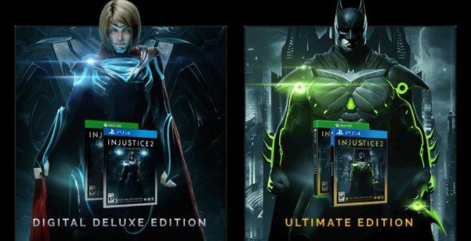 Коллекционные издания Injustice 2