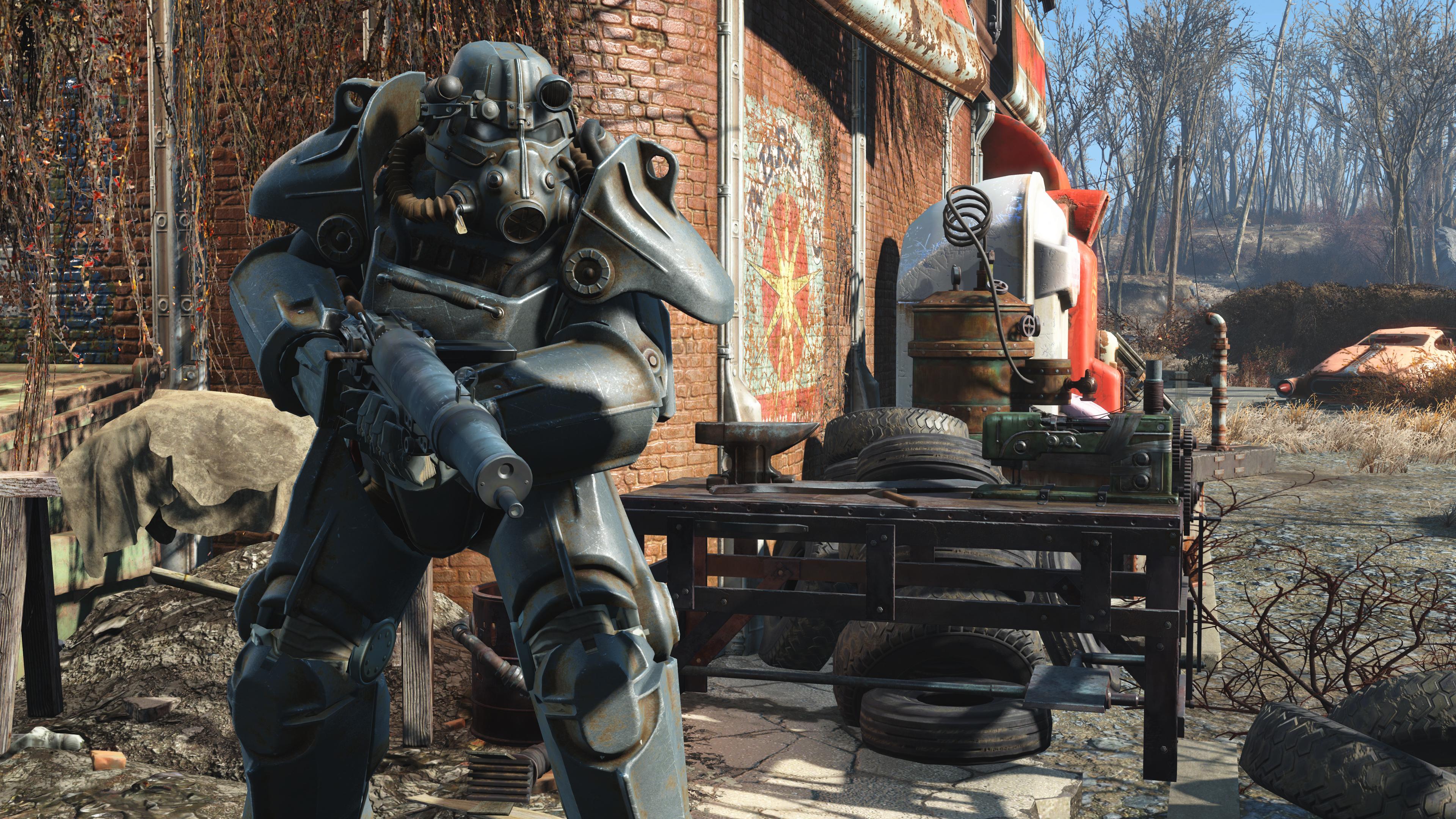 Обновление с текстурами широкого разрешения для Fallout 4 весит 58 Гб