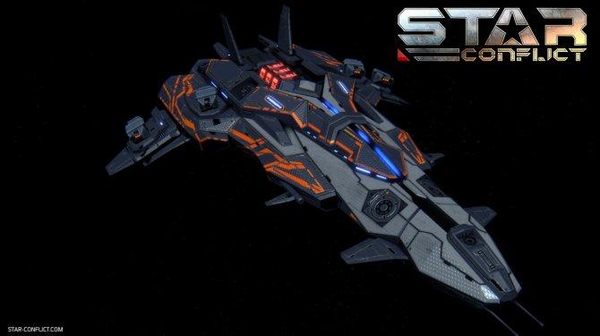 Премиумный корабль Black Hort.