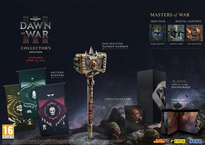 Dawn of War III Collector's Edition