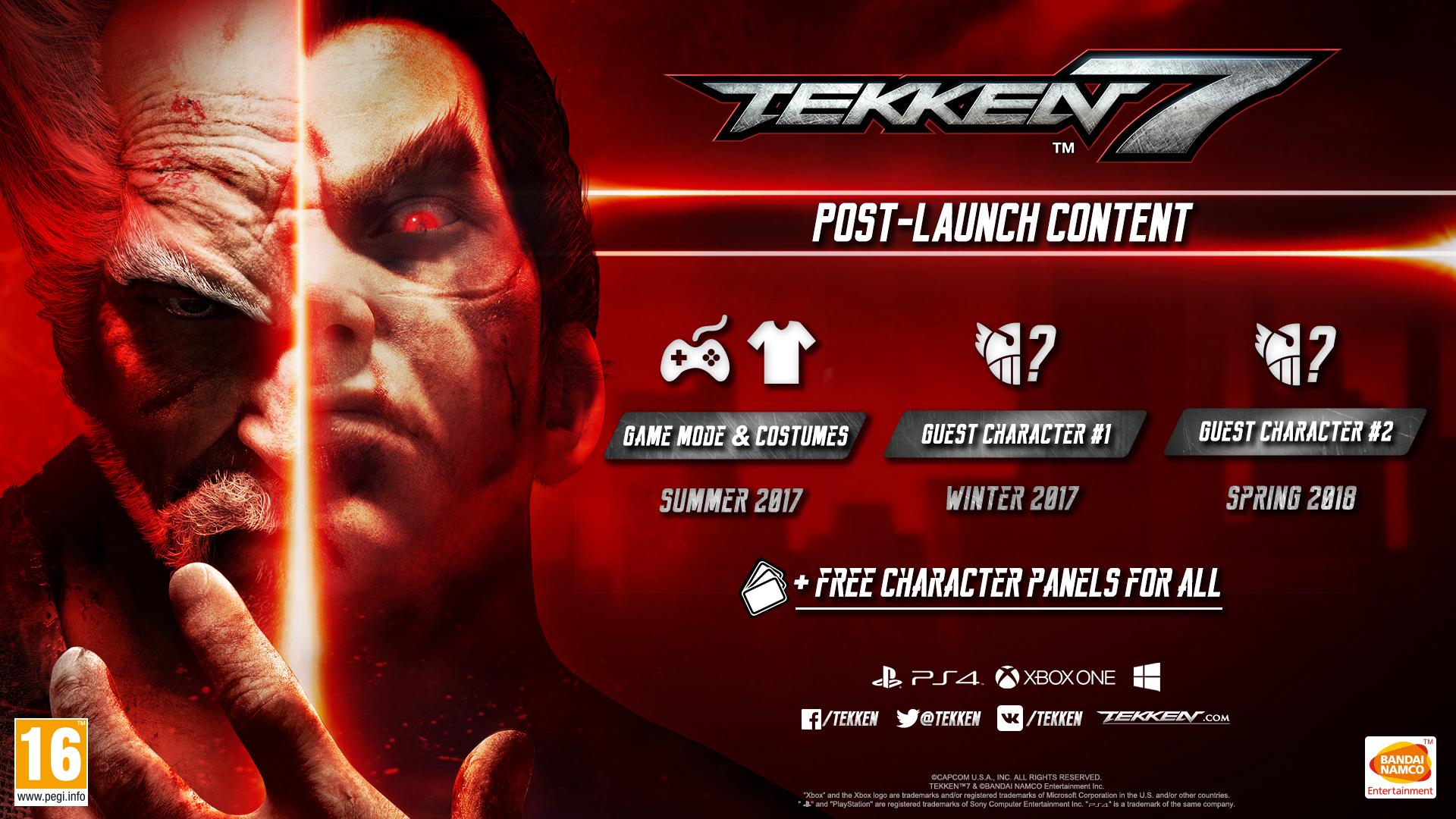 Дополнительный контент для Tekken 7