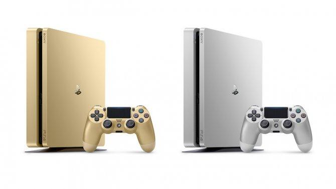 Золотые и серебряные PlayStation 4 выйдут в России