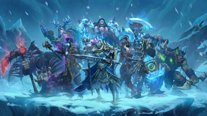 Hearthstone получит новое обновление Рыцарями Ледяного Трона