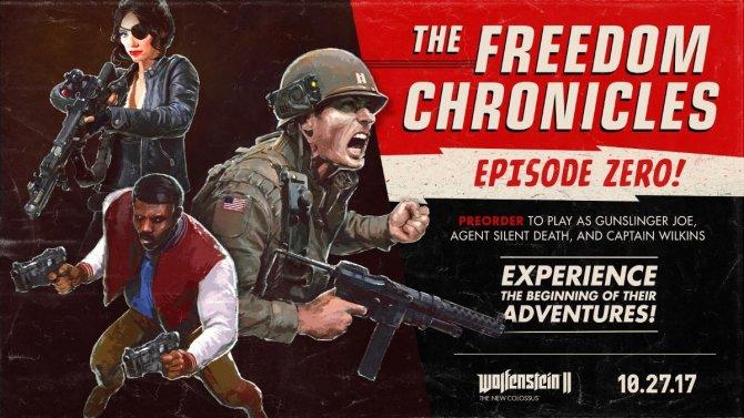 Детали сезонного пропуска Wolfenstein II: The New Colossus