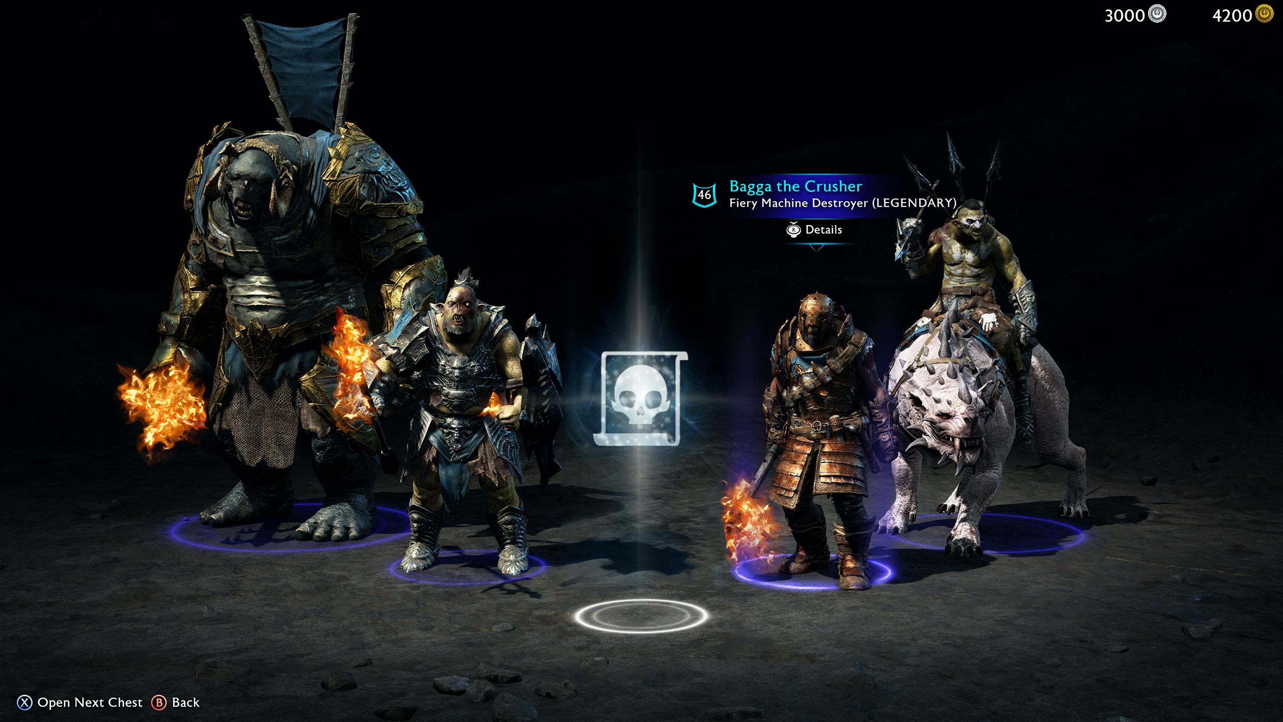 Микротранзакции в Middle-earth: Shadow of War
