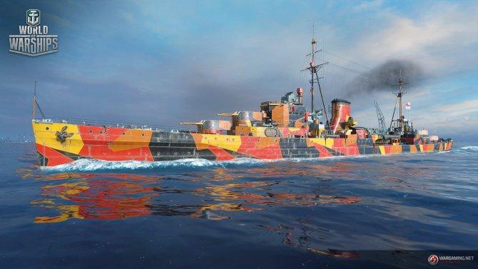 Темные силы добрались до World of Warships