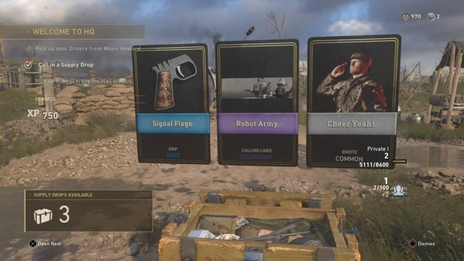 Call of Duty: WWII – микротранзакции и COD Points появятся на следующей неделе
