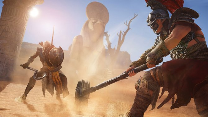 Кошмарный уровень сложности появится в Assassin's Creed: Origins в декабре