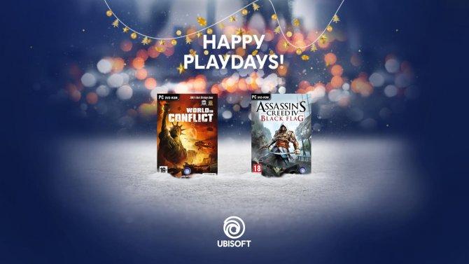 Две бесплатные игры от Ubisoft в декабре