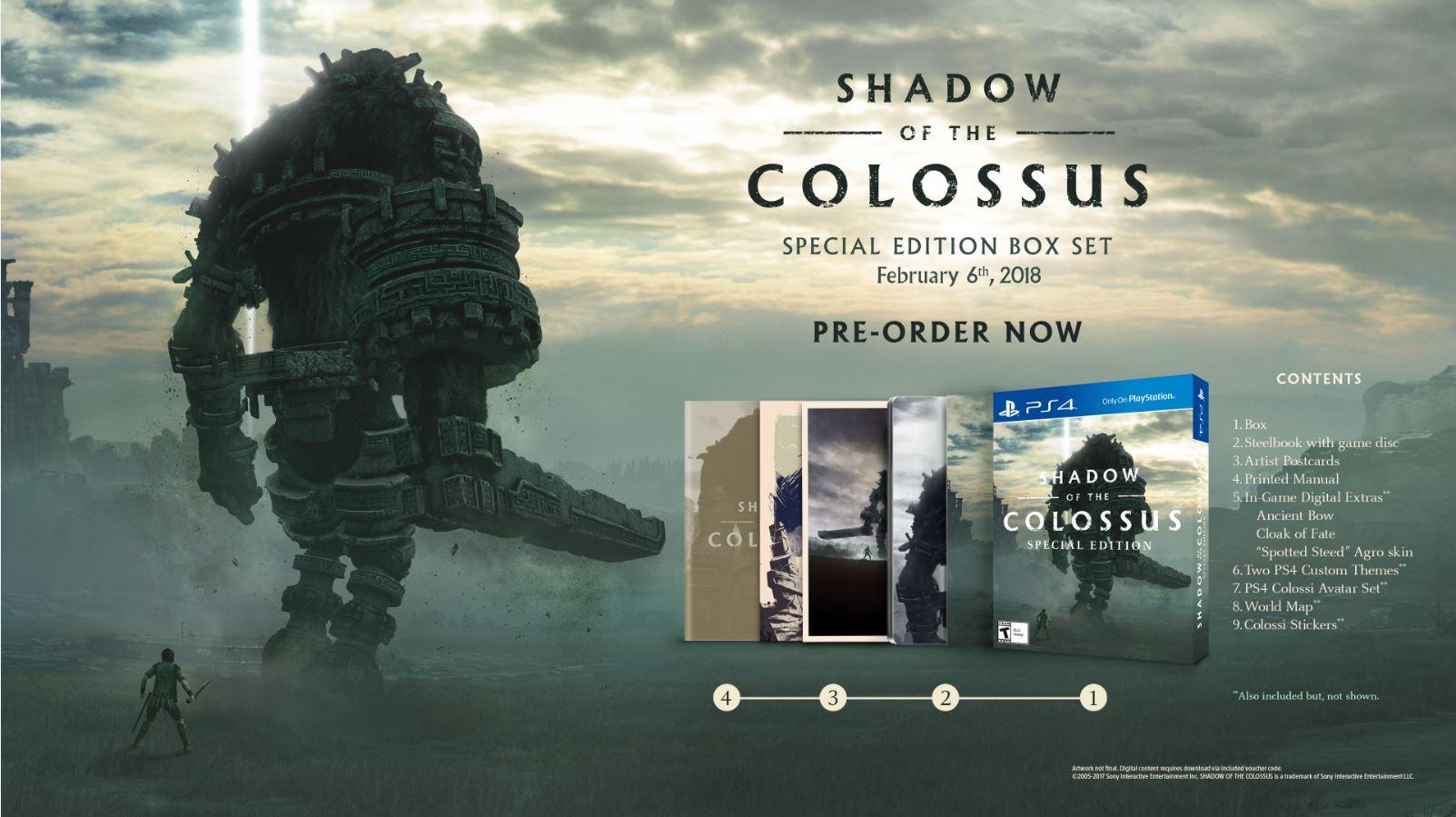 Демонстрация ремастера Shadow of the Colossus