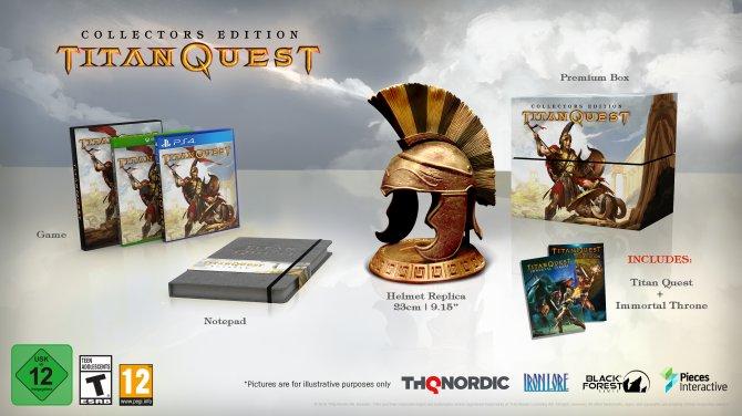 Коллекционное издание Titan Quest.