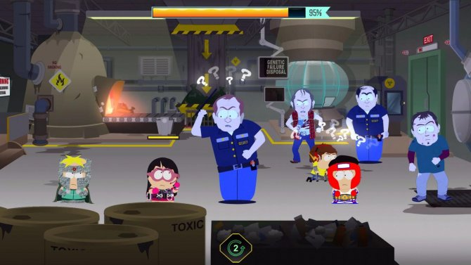 Релиз DLC Голодек страха для South Park: The Fractured but Whole