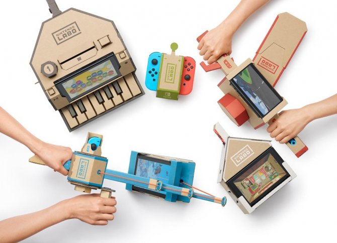 Nintendo представили Nintendo Labo