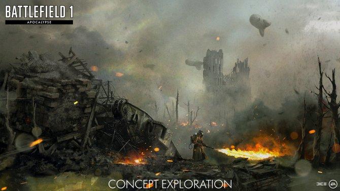 Релиз Battlefield 1: Apocalypse состоится в феврале