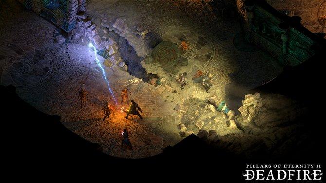 Pillars of Eternity 2 сражение в подземелье
