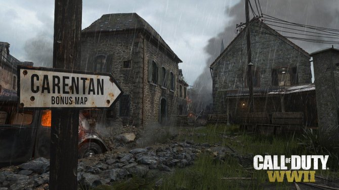 Call of Duty: WWII DLC The Resistance новая карта