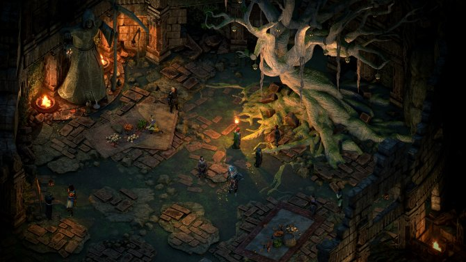 Pillars of Eternity II: Deadfire геймплейный кадр