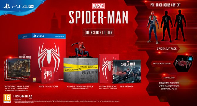 Дата релиза и издания Marvel's Spider Man