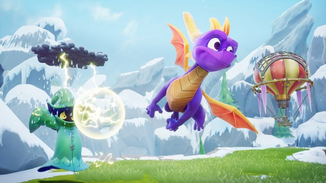 Spyro Reignited Trilogy полет