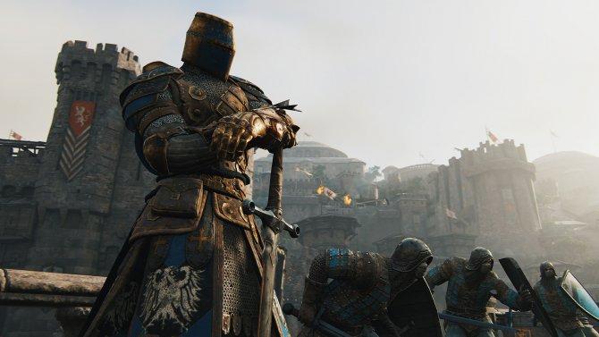 For Honor крепость, крестоносец