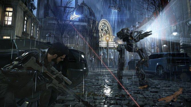 Deus Ex: Mankind Divided улица, укрытие