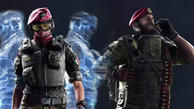 Rainbow Six Siege: Operation Para Bellum бойцы