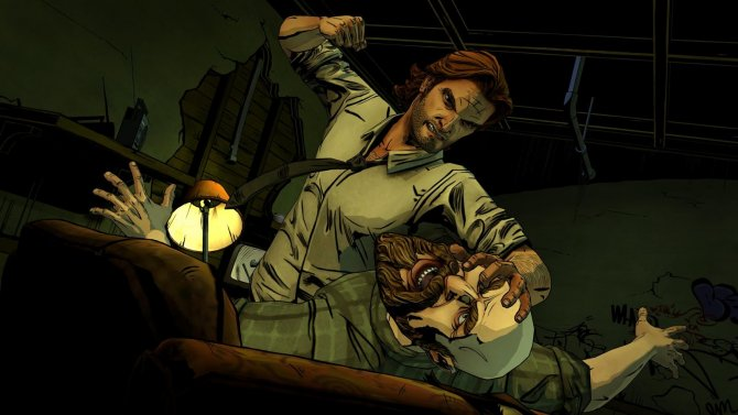 The Wolf Among Us драка