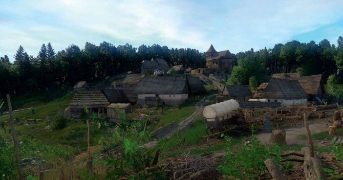 KCD деревня