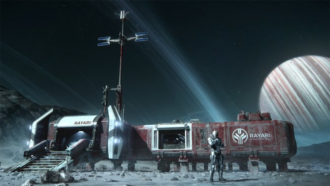 Star Citizen Planet Base