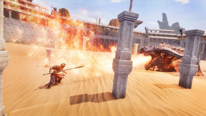 Conan Exiles Jewel of the West битва