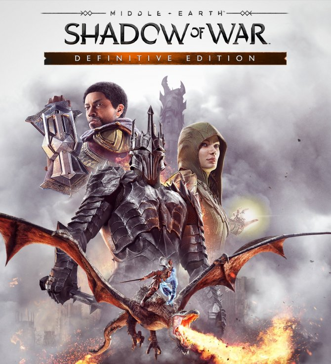 Анонс Middle-earth: Shadow of War Definitive Edition