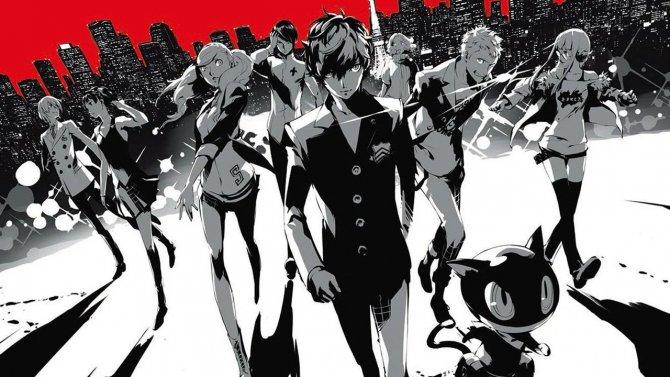 Persona 5 картинка