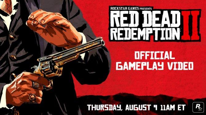 Red Dead Redemption 2 анонс геймплейного ролика