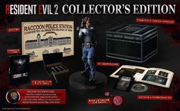 Resident Evil 2 коллекционное издание
