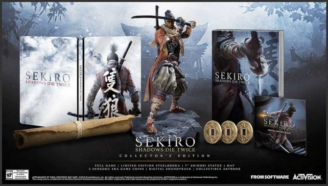 Sekiro: Shadows Die Twice коллекционное издание