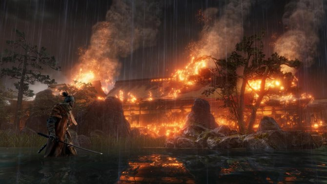 Геймплей Sekiro: Shadows Die Twice с Gamescom 2018