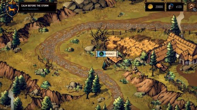 Thronebreaker gameplay