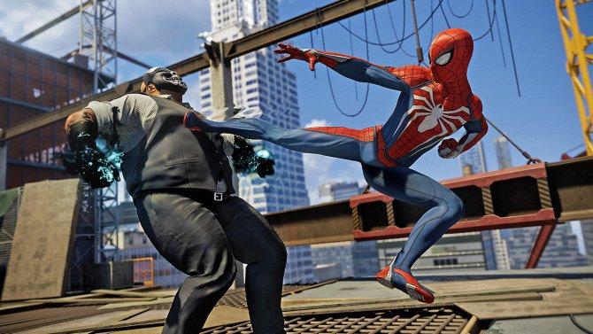 Marvel's Spider-Man драка