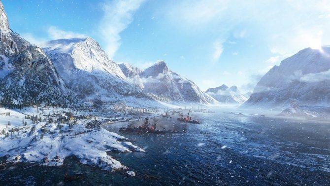 Battlefield V карта зима