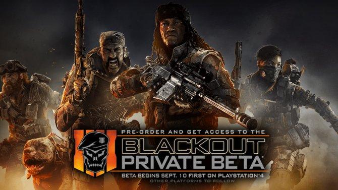 Время проведения бета-теста режима Blackout для Black Ops 4