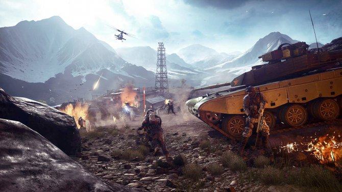 Battlefield 4 война