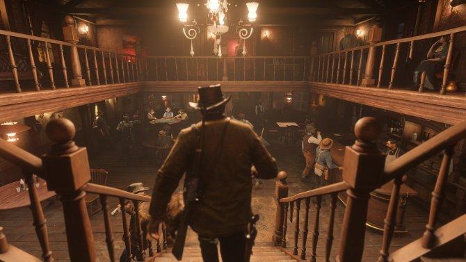 Red Dead Redemption 2 в баре